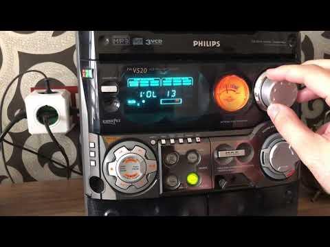Philips mini hifi system (max sound)