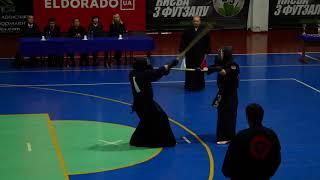 Kendo   Japan ambassadors cup   Nov  3, 2019 |  - Semi Final (Koval KFK white vs Fedchuk KFK red)
