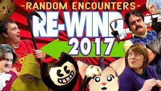 Random Encounters 39 REWIND 2017 A Backward Musical Montage