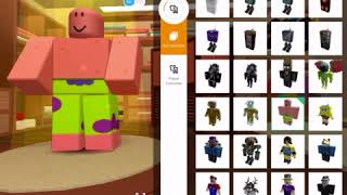 How to become Mario spongebob Patrick or a Hershey bar in roblox
