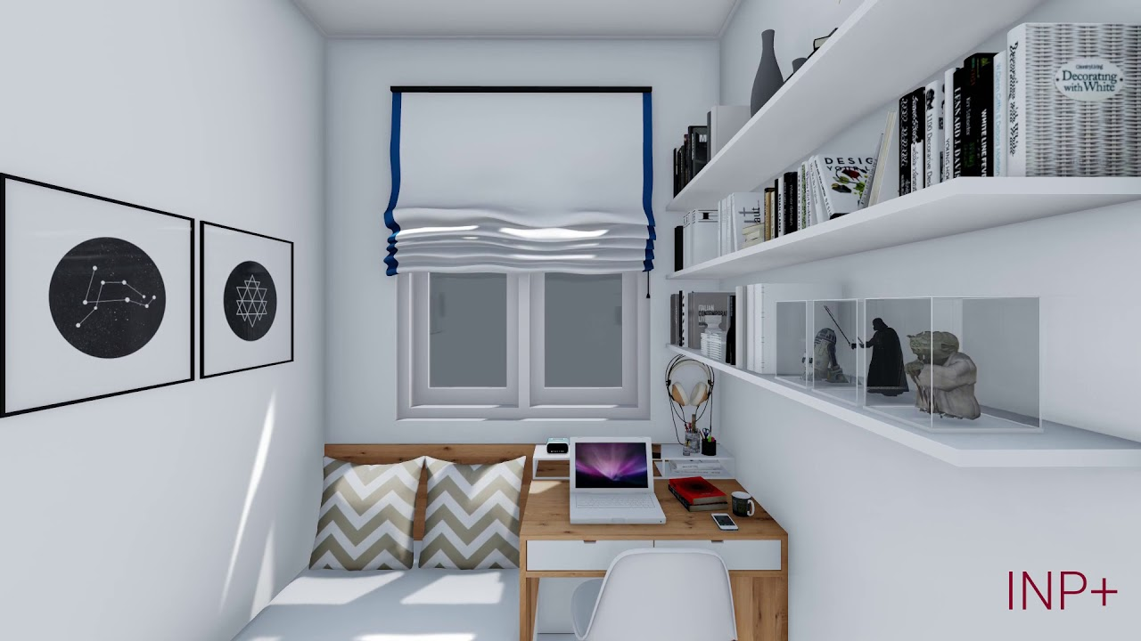 Desain Interior Kamar Tidur Sempit Ukuran 2x3 M Part 1 Youtube