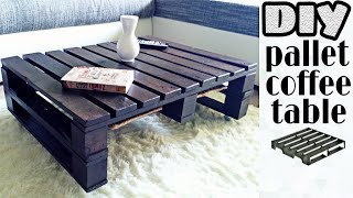 DIY - pallet coffee table