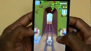 Sony Xperia Z Gaming/View Angles/VideoPlayback/Speed Test vs iPhone 5