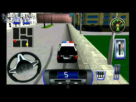 3D Police Car Simulator - Android GamePlay Trailer