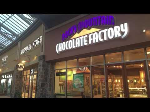 Dji Osmo mobile footage - Utah - Lehi - The Outlets at Traverse Mountain