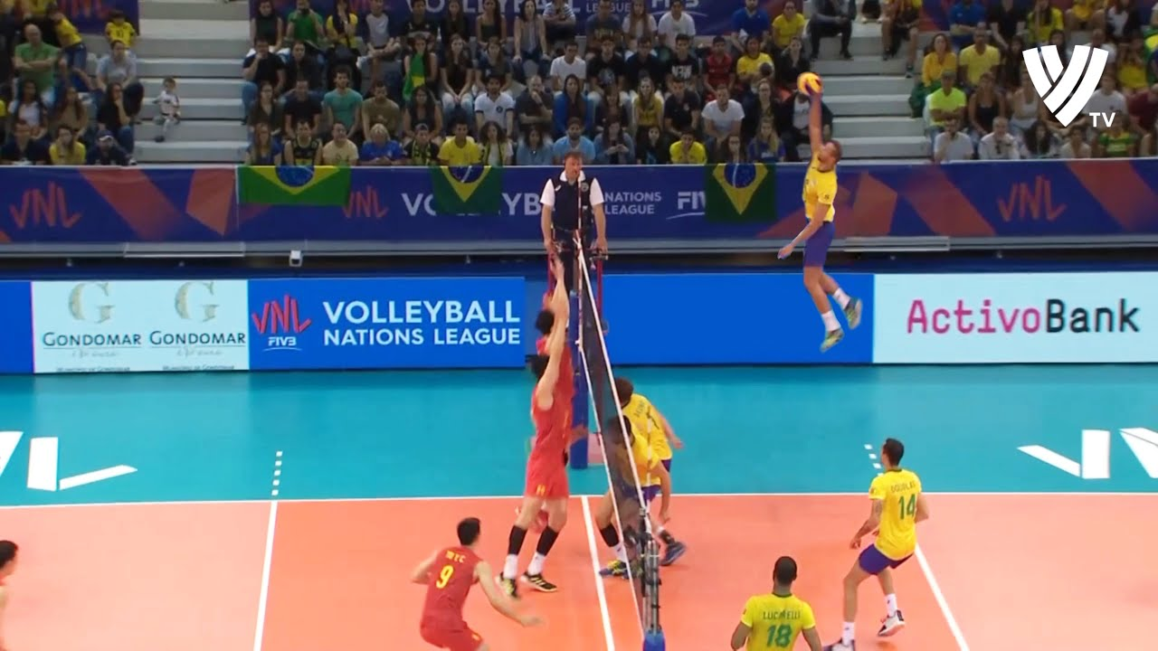 Alan Souza | Volleyball Player Without Gravity | Monster of the Vertical Jump (HD)
