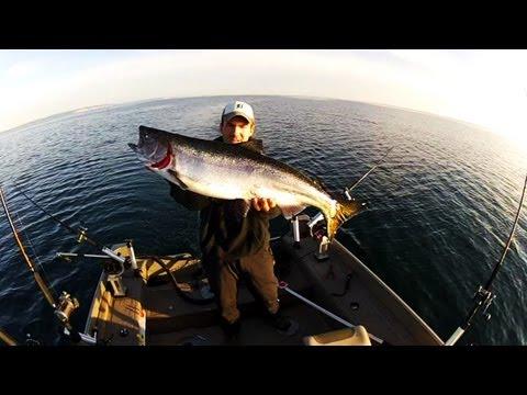 Small Boat Salmon Fishing