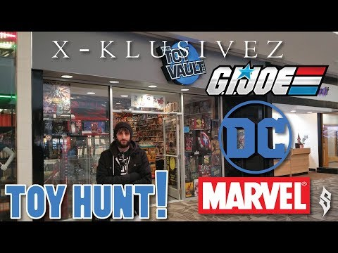 The Toy Vault - Toy Hunting for Retro/Vintage Action Figures & Games!