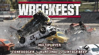 WRECKFEST for Breakfast - 04 - Multiplayer w/ Beef & Cone