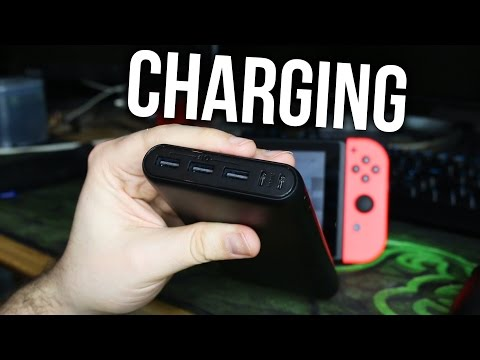 NINTENDO SWITCH CHARGING ??? Do Portable Battery Packs Work? USB Plugs Chargers and USB Slots