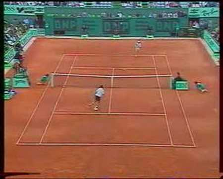 Courier Ivanisevic French Open 1992