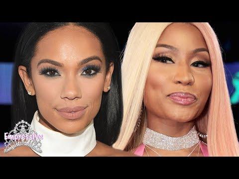 Erica Mena shades Nicki Minaj...then gets exposed as a former Barb!