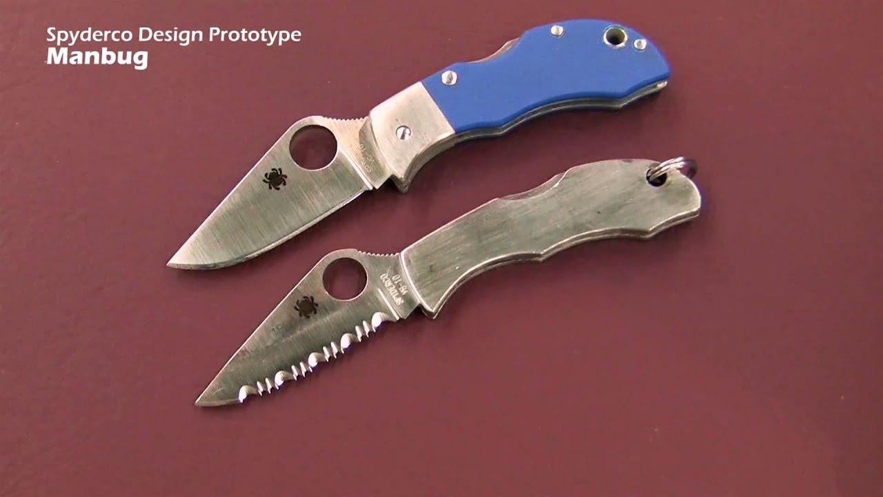Spyderco manbug нож делаем нож финка