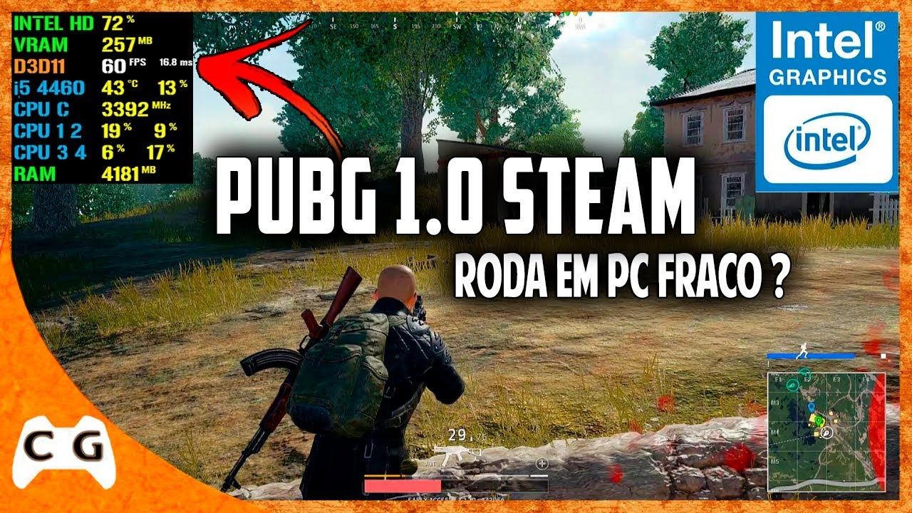 Pubg With Intel Hd Graphics: Battlegrounds (PUBG 1.0) Gameplay Na Intel HD Graphics