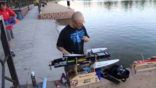 80MPH NITRO RC BOAT RACING HD