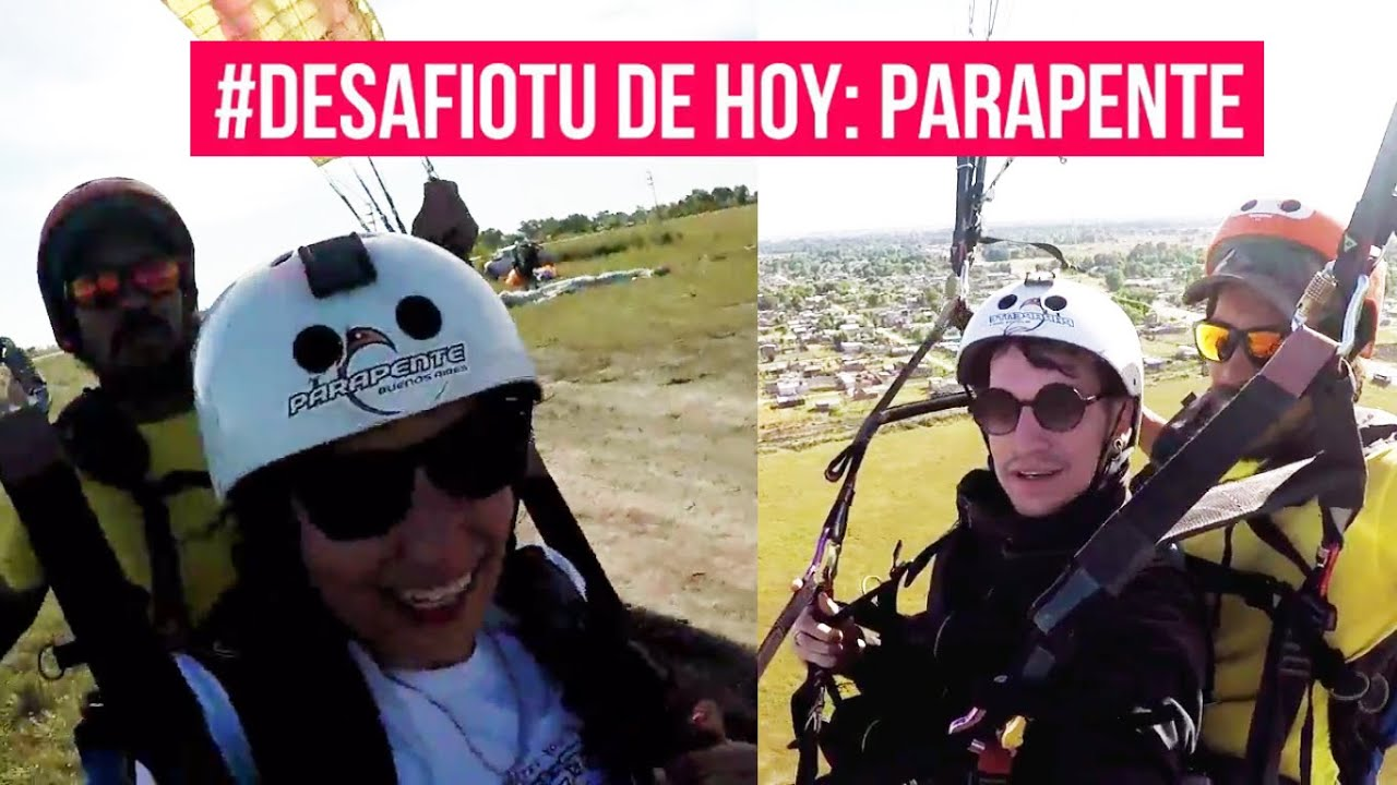 Desafío TU // Episodio 1 - ¡Volamos en Parapente!