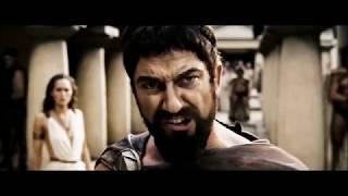 """Оскорбление? Нет это Спарта! Отрывок из фильма  """"300 спартанцев"""