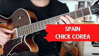 How To Play Spain Chick Corea