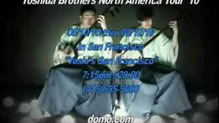 Yoshida Brothers perform on August 10, 11, 12 at Yoshi's San Franci...