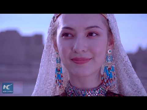Splendid Uygur fashion 100 years ago