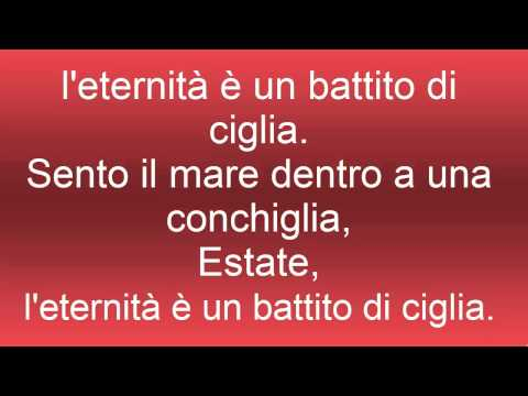 Estate - Lorenzo Jovanotti Cherubini (Lyric Music)