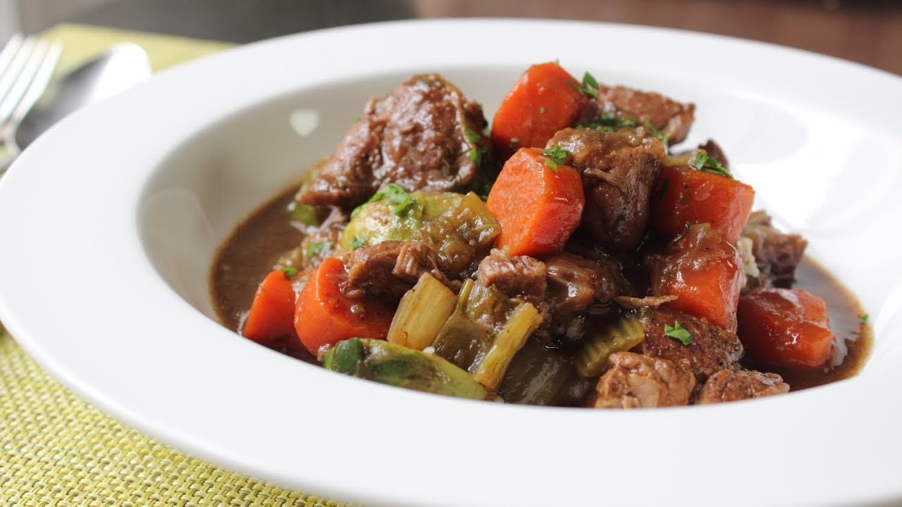 Irish Pork Stew Recipe - Pork Stewed with Guinness Beer ...