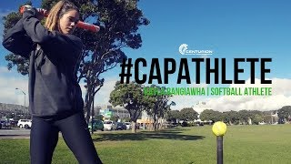 CAP Athlete- Kayla Rangiawha, Softball Athlete: What kind of training do you offer for Softball?
