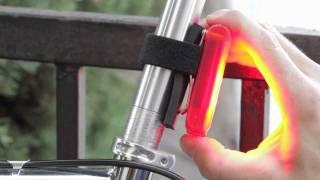 NiteFlux Red Zone 4 Bike Light Review (and vs. Blackburn Flea)