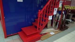 Деревянные лестницы в Санкт-Петербурге(Купить лестницу в Санкт-Петербурге по телефону 8 (812) 424-37-54, www.vip-remonrt.com лестница спб, лестницы в спб, деревянн..., 2013-08-28T05:56:52.000Z)