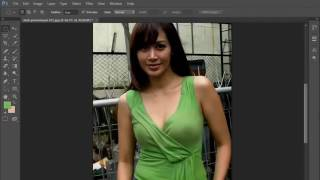 How Photoshop cloth remover video