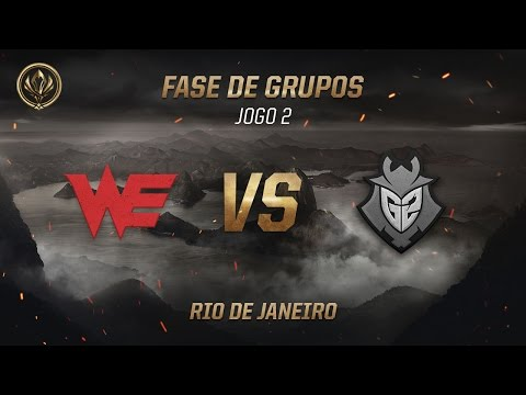 Team WE x G2 (Fase de Grupos - Jogo 1 - Dia 4) - MSI 2017