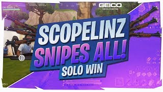 HITTING NUTTY SNIPES! AND AN INSANE FINAL FIGHT... (Fortnite BR Full Game)