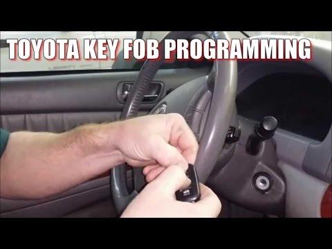 How to program 2000-2006 Toyota remote key fob