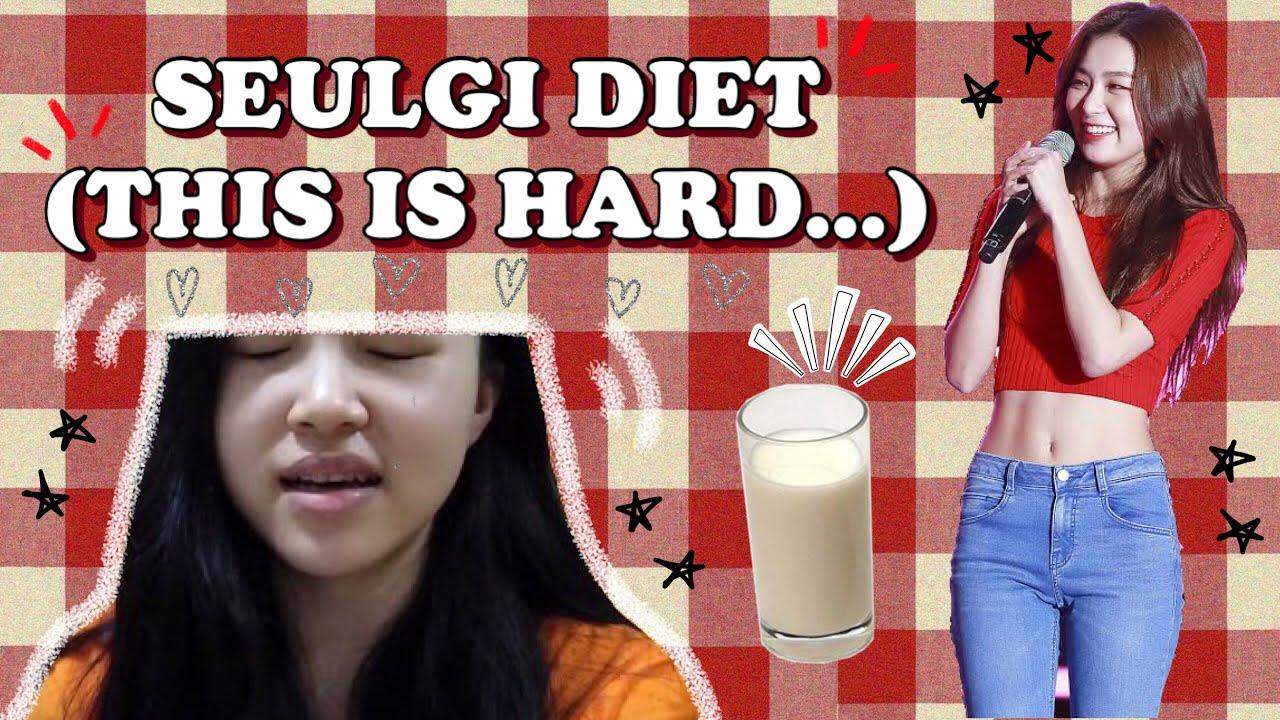 I TRIED RED VELVET SEULGI DIET | KPOP IDOL DIET