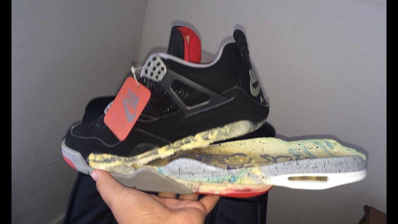 air jordan 6 sole swap sneakers