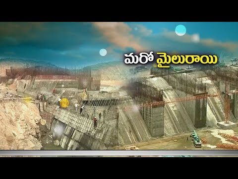 New record at Polavaram | 2 lakh cubic meters of concrete works completed One month