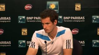Andy Murray Talks About Rosol Win