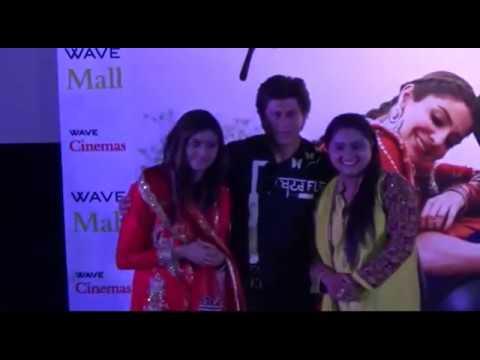 Shar Rukh Khan Met Nooran Sisters While Promotes