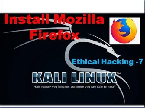 Install & Download Mozilla Firefox On Kali Linux