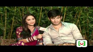 Valentine with Krystle Dsouza and Karan Tacker