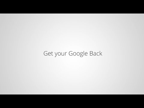 Get Your Google Back On Windows 8.1