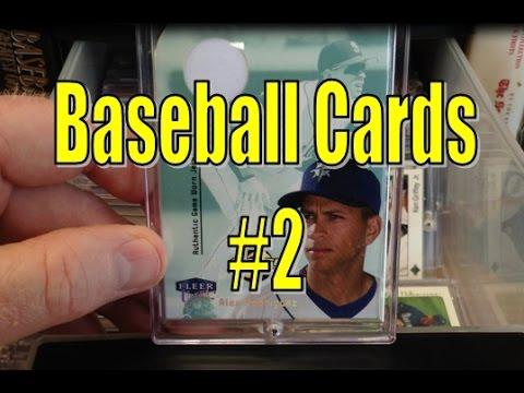 Baseball Cards ASMR - No 2