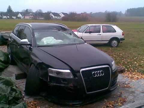 first audi rs6 2008 crash tuned by mtm 650hp youtube. Black Bedroom Furniture Sets. Home Design Ideas
