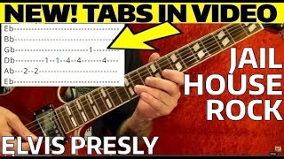 Jailhouse Rock - Elvis Presley - Guitar Lesson WITH TABS