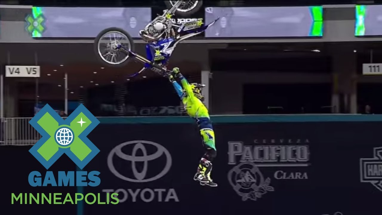 full broadcast pacifico moto x freestyle final x games