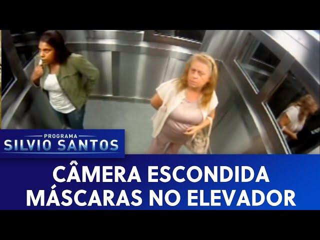Câmera Escondida: Máscaras no Elevador