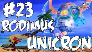 Rodimus Evento Unicron #23 Angry Birds Transformers Español