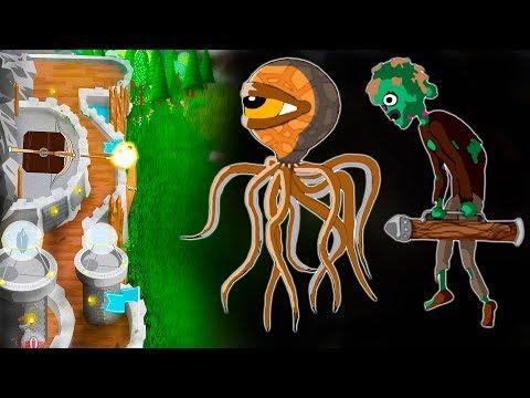 Оборона замка от атак зомби и монстров - Grim Defender – Защита замка и башен. Андроид игры