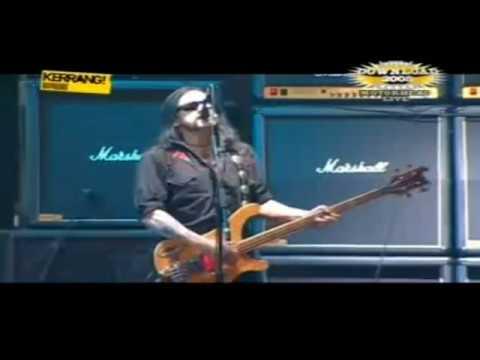 Motörhead Love Me Like a Reptile Live Download Festival 2005 HQ mp3