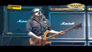 Motörhead Love Me Like a Reptile Live Download Festival 2005